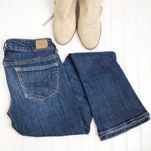 AEO Skinny Kick Stretch Sequin Pocket 4 W140